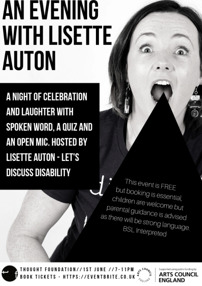 Let's Discuss Disability - Evening With Poster