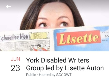 York Disabled Writers Group