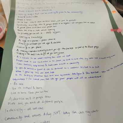 Handwritten words of Walthamstow