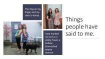 Things people have said to me - Lisette Auton